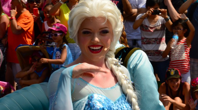 Maneuvering Hollywood Studios Extra Magic Hour Day With Frozen