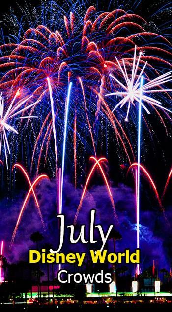 Disney World Crowd Calendar July 2020