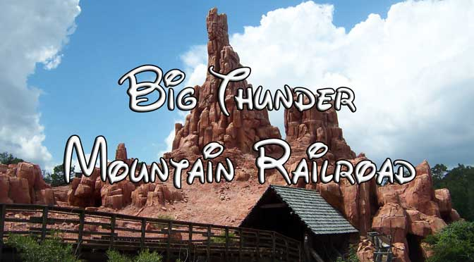 big thunder mountain railroad at walt disney world