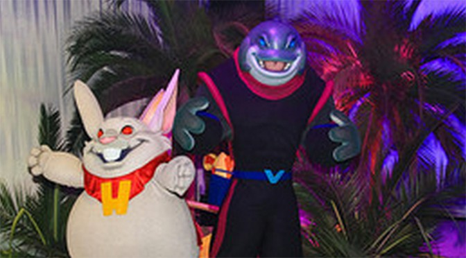 captain gantu and dr hamsterviel to appear at Villains Unleashed in Hollywood studos