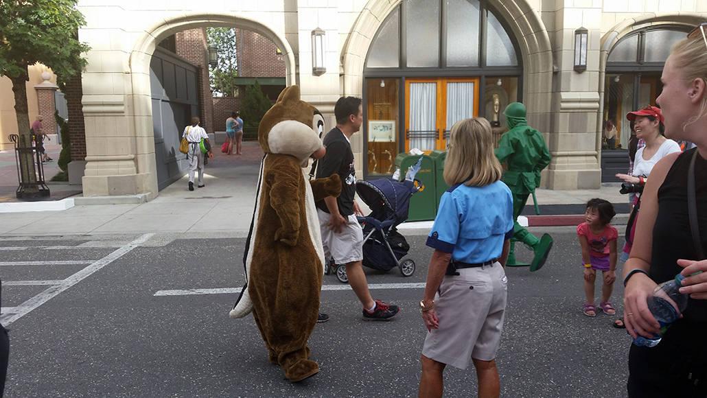 Character Palooza on New York Street in Hollywood Studios in Disney World