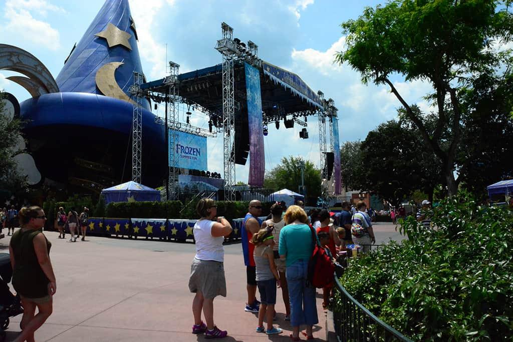 Disney's Hollywood Studios Frozen Parade
