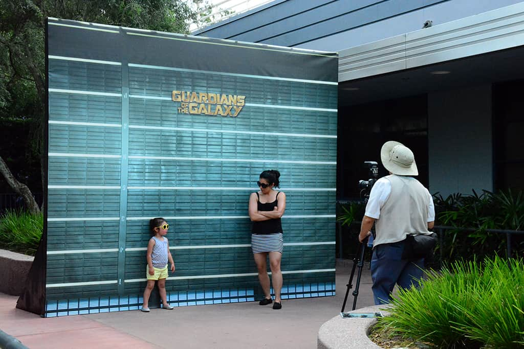 Disney's Hollywood Studios Photopass Magic Shot Guardians of the Galaxy