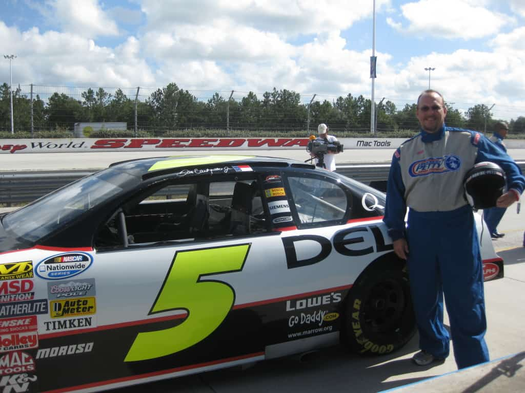 Richard Petty Driving Experience in Walt Disney World