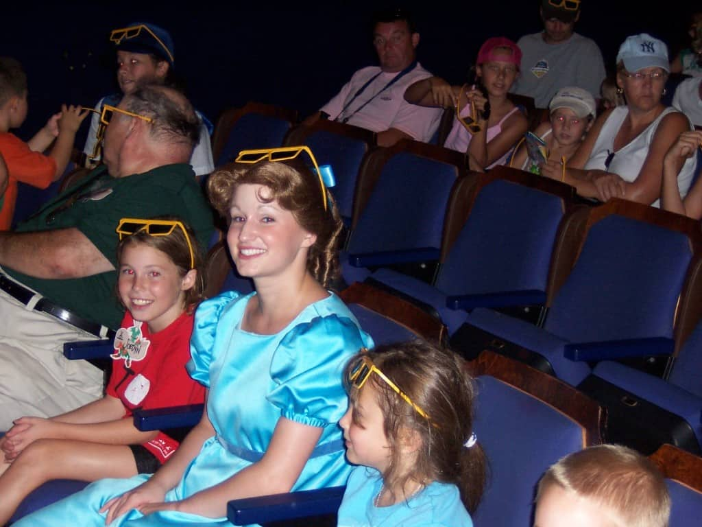 Wendy at Mickey's Philharmagic at Family Magic Tour