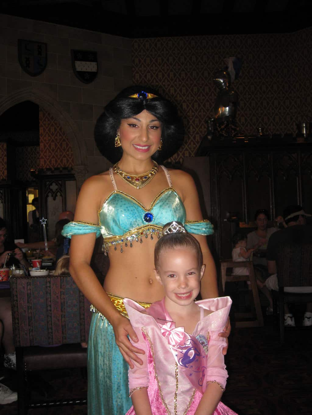 Jasmine at Cinderella's Royal Table 2009