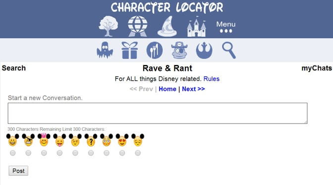 kennythepirate's character locator app rave and rant chat feature