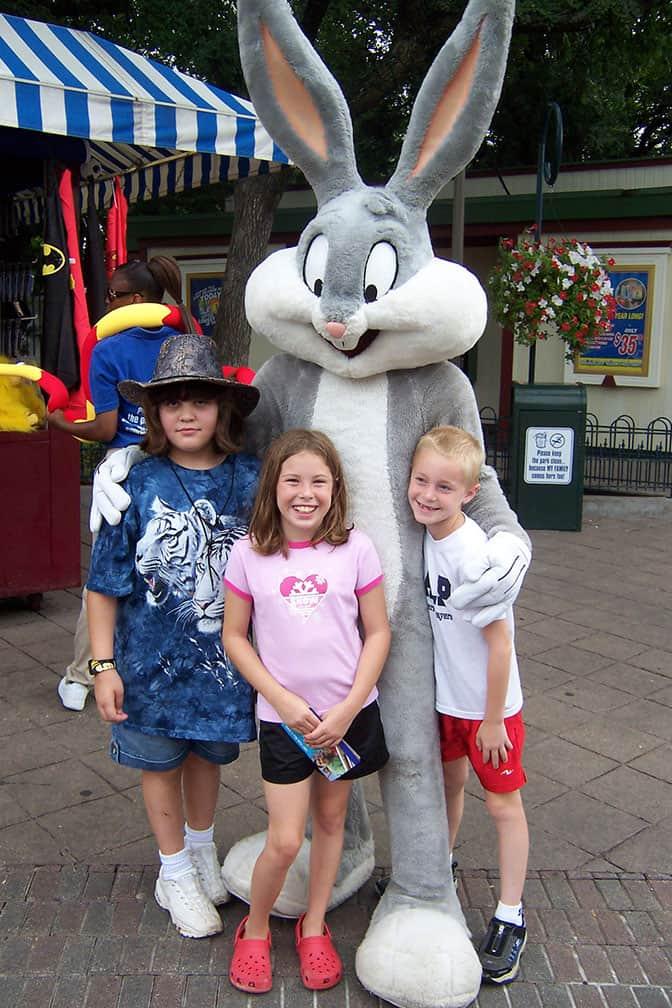Bugs Bunny Six Flags Texas 2007 (2)