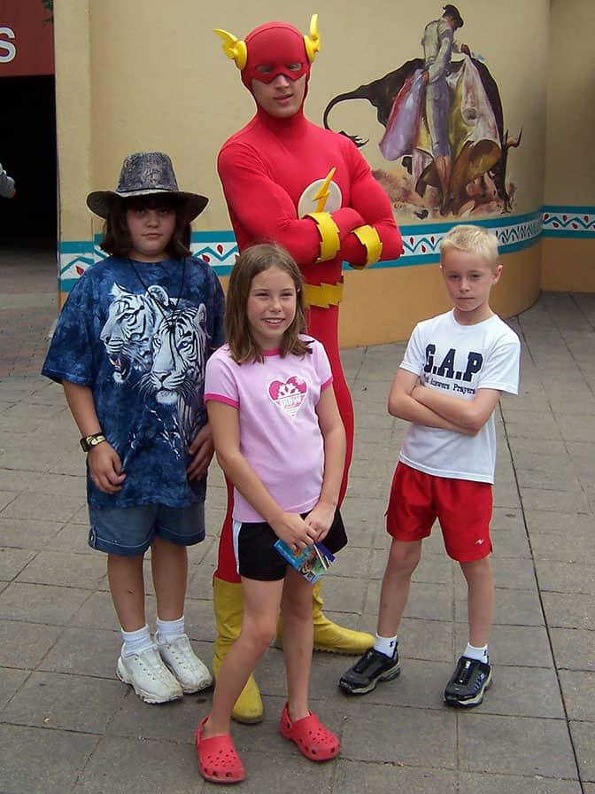 Flash Six Flags Texas 2007