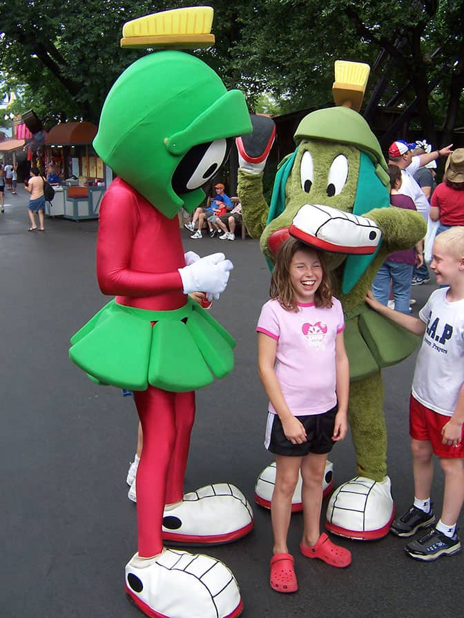 Marvin Martian and K-9 Six Flags Texas 2007 (1)