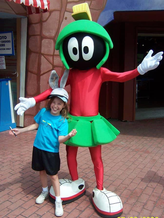 Marvin Martian Six Flags Texas 2006