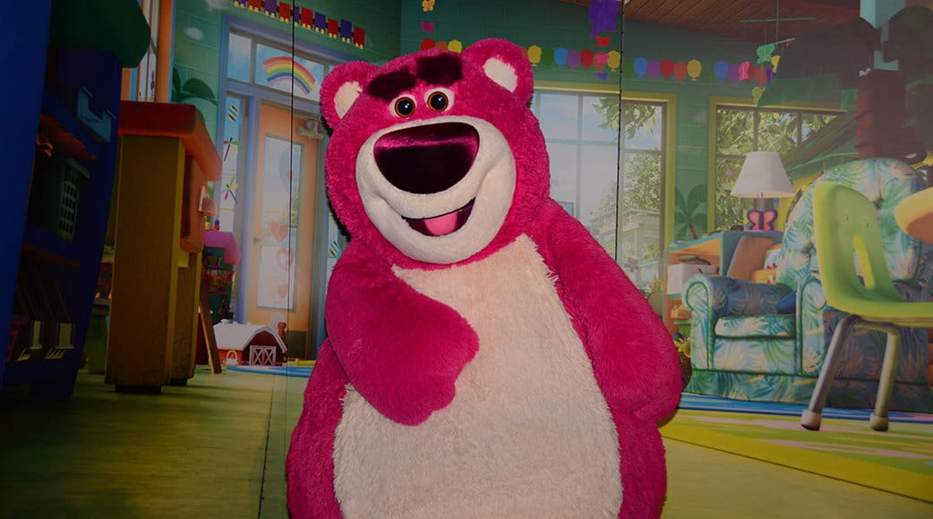 Mickey's Not So Scary Halloween Party 2014 Lotso