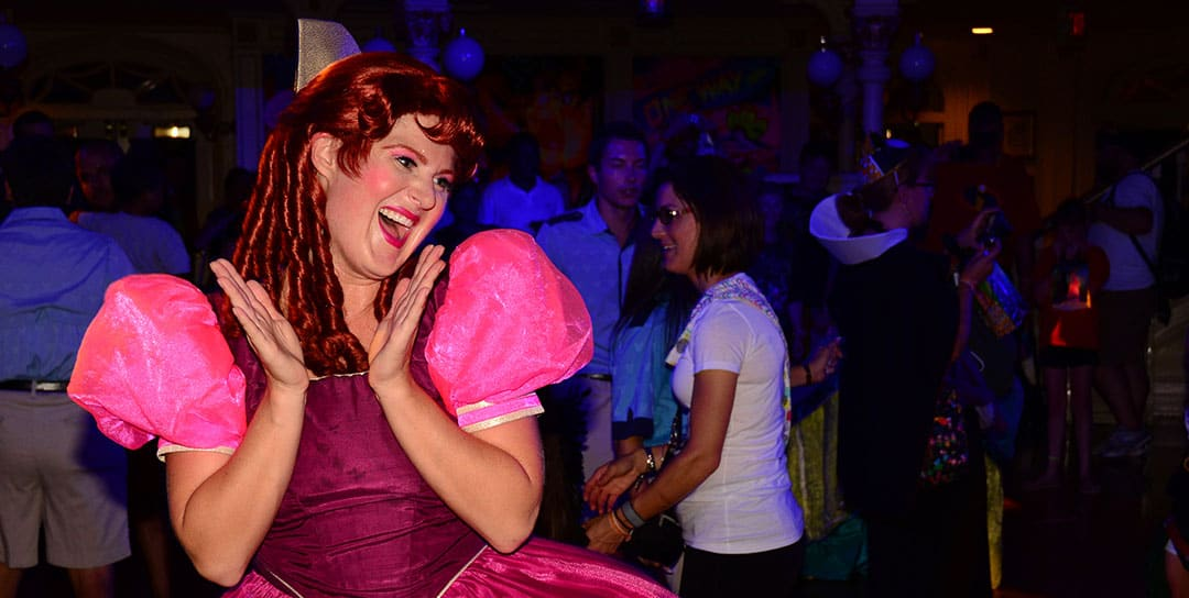 Mickey's Not So Scary Halloween Party 2014 Anastasia Tremaine