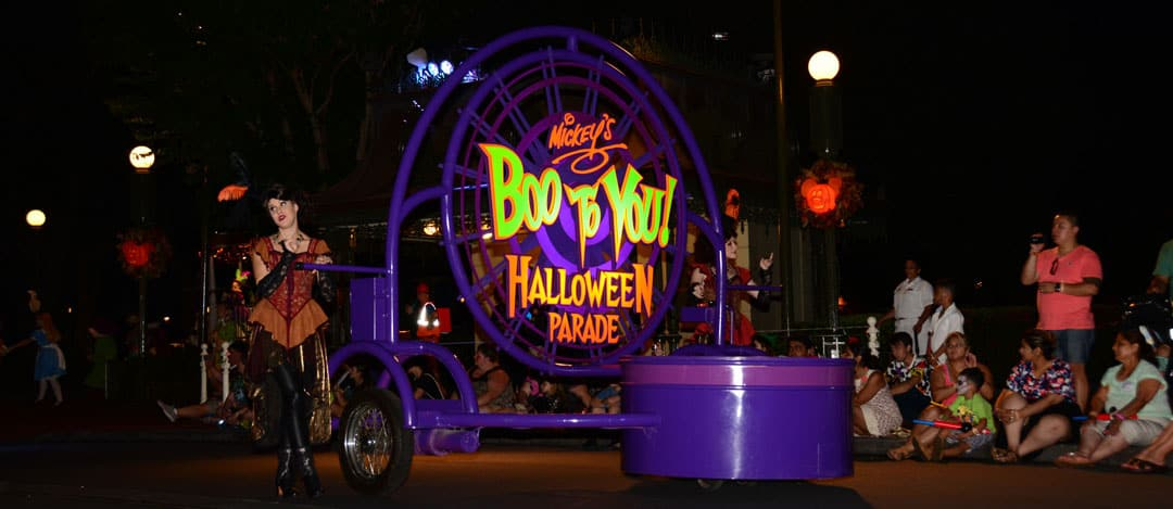Mickey's Not So Scary Halloween Party 2014 Boo to You Halloween Parade