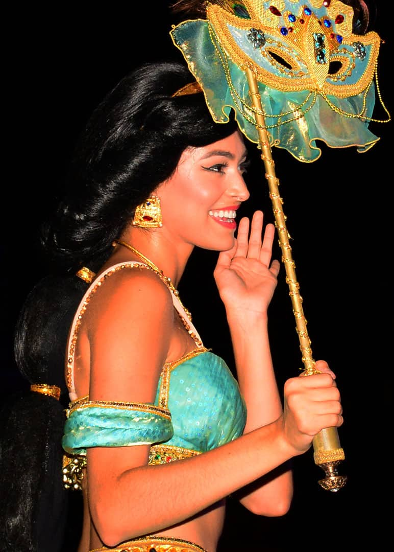 Mickey's Not So Scary Halloween Party 2014 Boo to You Halloween Parade Jasmine