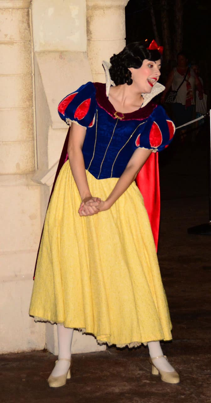 Mickey's Not So Scary Halloween Party 2014 Snow White