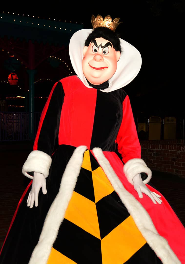 Mickey's Not So Scary Halloween Party 2014 Queen of Hearts