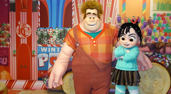 Ralph and Vanellope are coming to Epcot and California Adventure