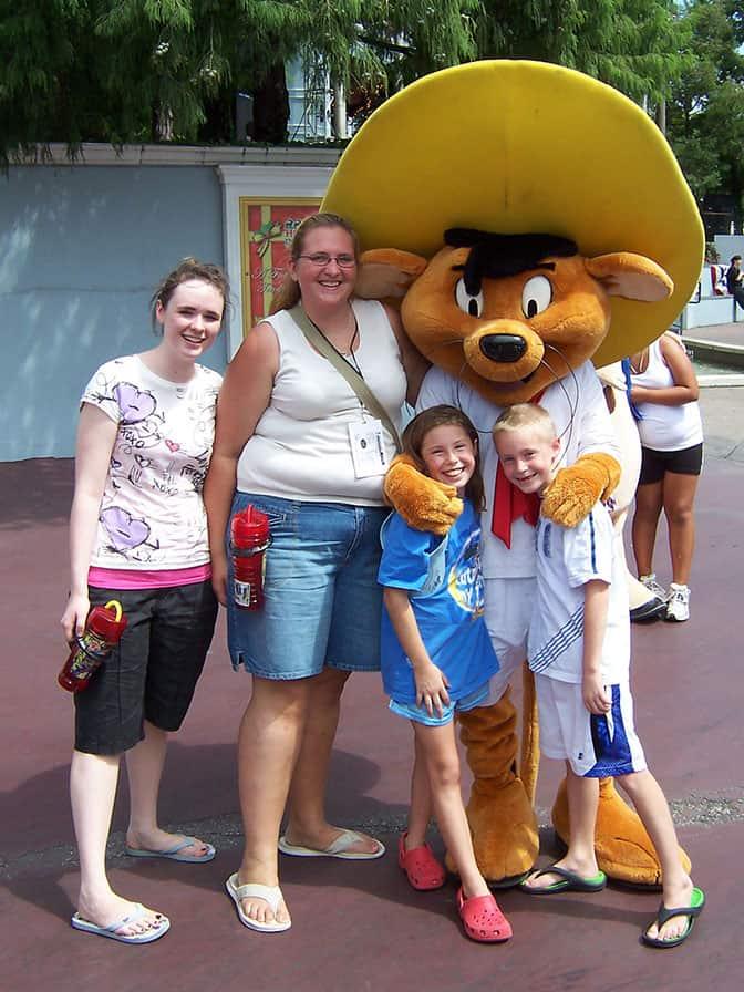 Speedy Gonzalez Six Flags Texas 2007