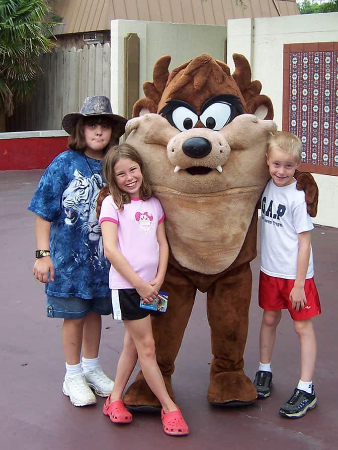 Tazmanian Devil Six Flags Texas 2007 (2)