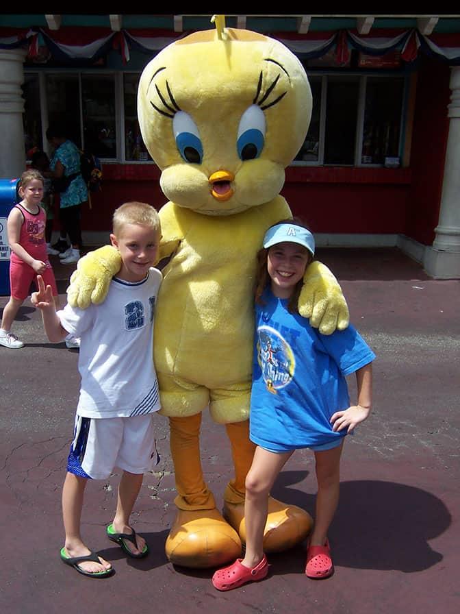 Tweety Bird Six Flags Texas 2007