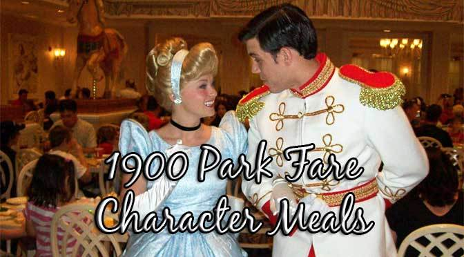 Grand Floridian 1900 Park Fare: Supercalifragilistic Breakfast and Cinderella's Happily Ever After Dinner