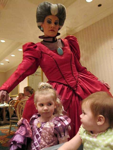 Lady Tremaine at 1900 Park Fare at the Grand Floridian Resort at Disney World (2)
