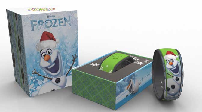 Olaf limited edition MagicBand 5000