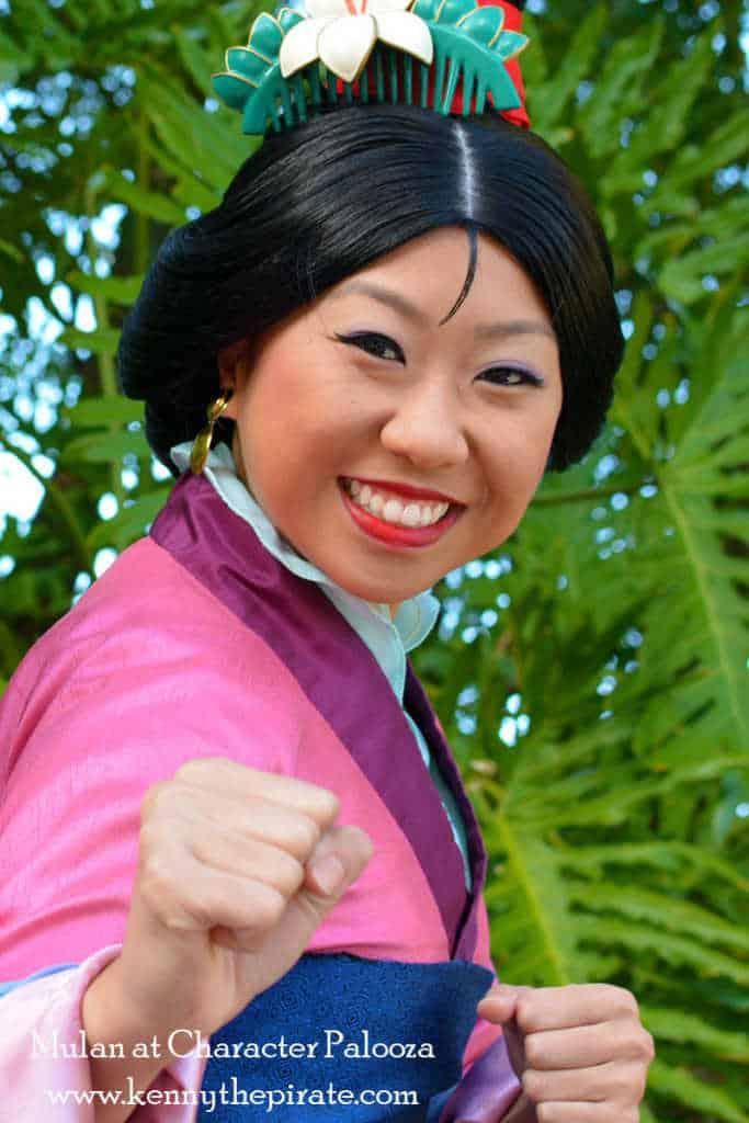 Character Palooza Hollywood Studios Walt Disney World January 2015 Mulan
