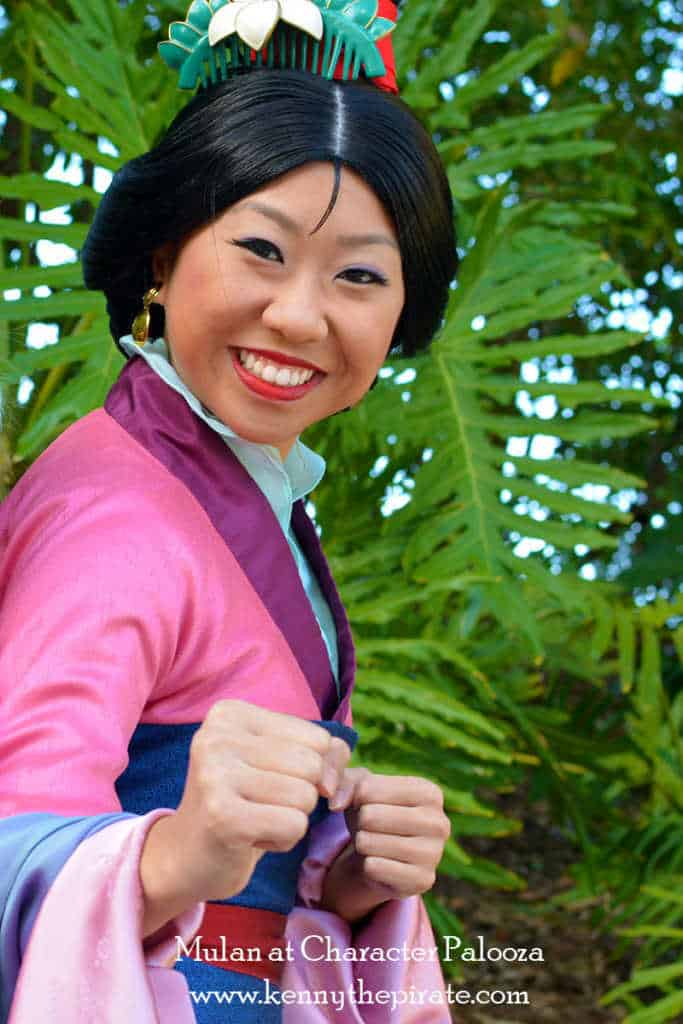 Character Palooza Hollywood Studios Walt Disney World 2015 Mulan