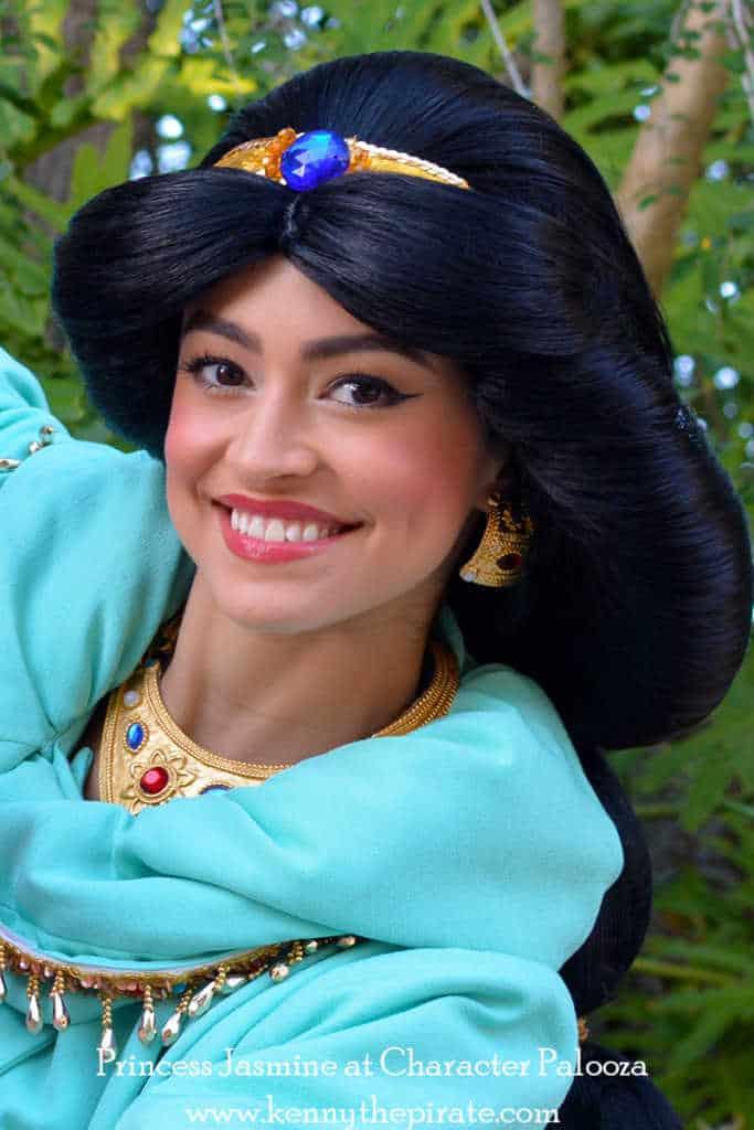 Character Palooza Hollywood Studios Walt Disney World January 2015 Princess Jasmine