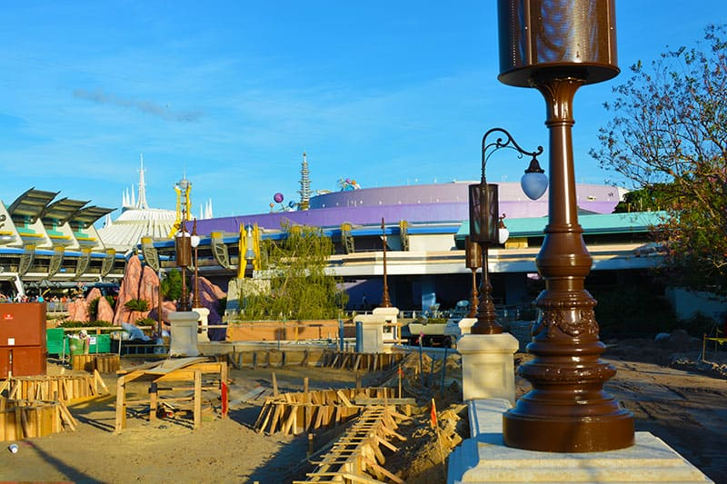 Magic Kingdom hub construction 2015 (7)