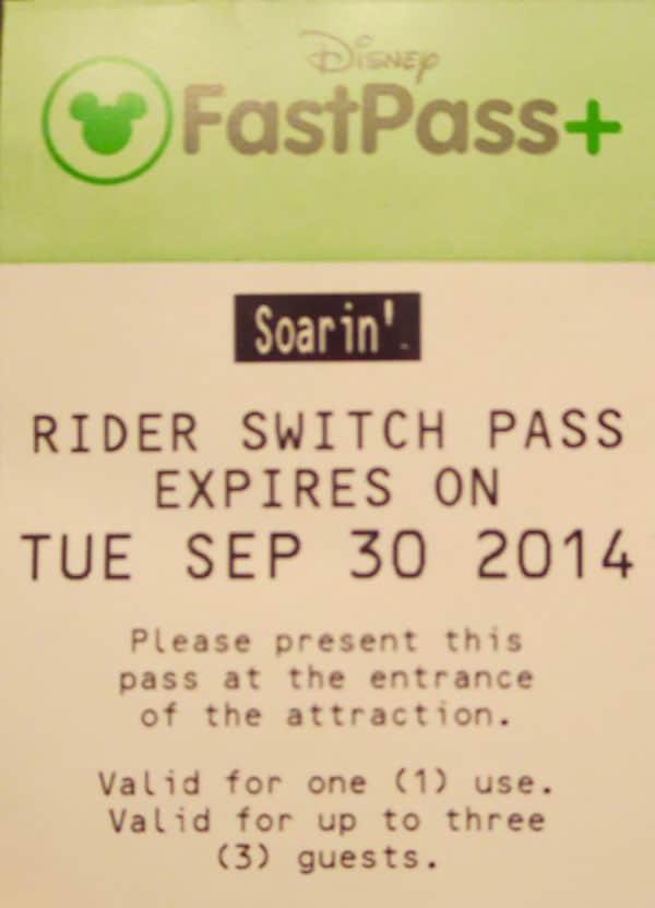 child swap rider switch pass walt disney world