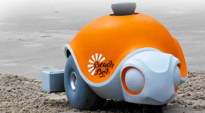 disney beachbot sand art robot