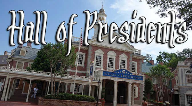 Hall of Presidents refurbishment has been delayed
