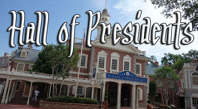 hall of presidents walt disney world magic kingdom liberty square