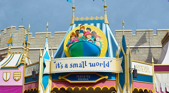 its a small world Walt Disney World Magic Kingdom Fantasyland