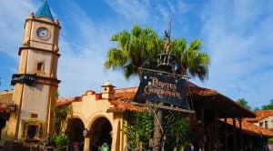 pirates of the caribbean adventureland magic kingdom disney world