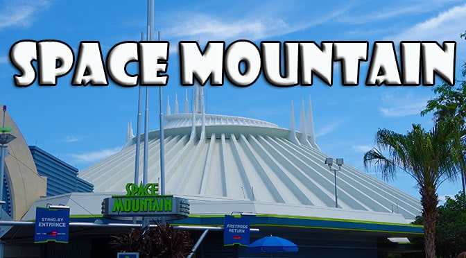 space mountain tomorrowland magic kingdom walt disney world