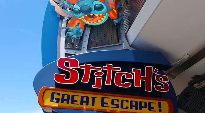 stitchs great escape tomorrowland magic kingdom walt disney world