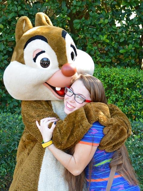 Chip n Dale Chipmunks Epcot Walt Disney World