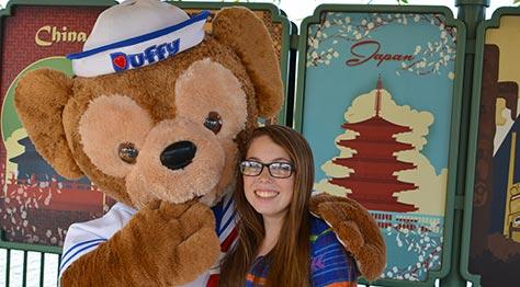 Duffy the Disney Bear Epcot Walt Disney World