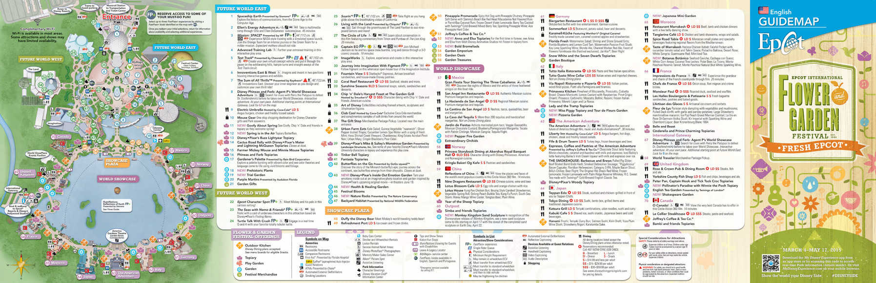 epcot flower and garden festival map | kennythepirate