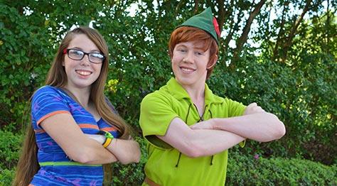 Peter Pan Epcot Training Meet International Gateway Walt Disney World