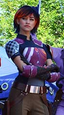 Sabine Star Wars Rebels Star Wars Weekends meet and greet