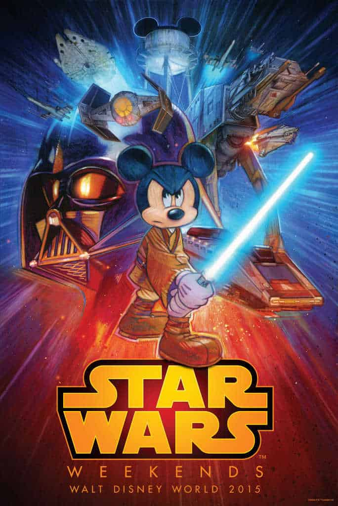 Star Wars Weekends 2015 logo and information l kennythepirate.com