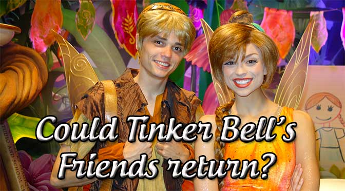 Tinker Bell Fairy Friends Returning to Walt Disney World l kennythepirate.com