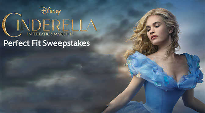 Disney Cinderella Perfect Fit Sweepstakes