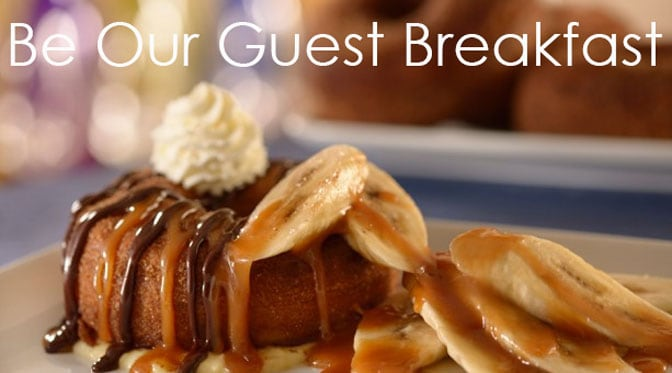 Be Our Guest Restaurant at Walt Disney World's Magic Kingdom Breakfast