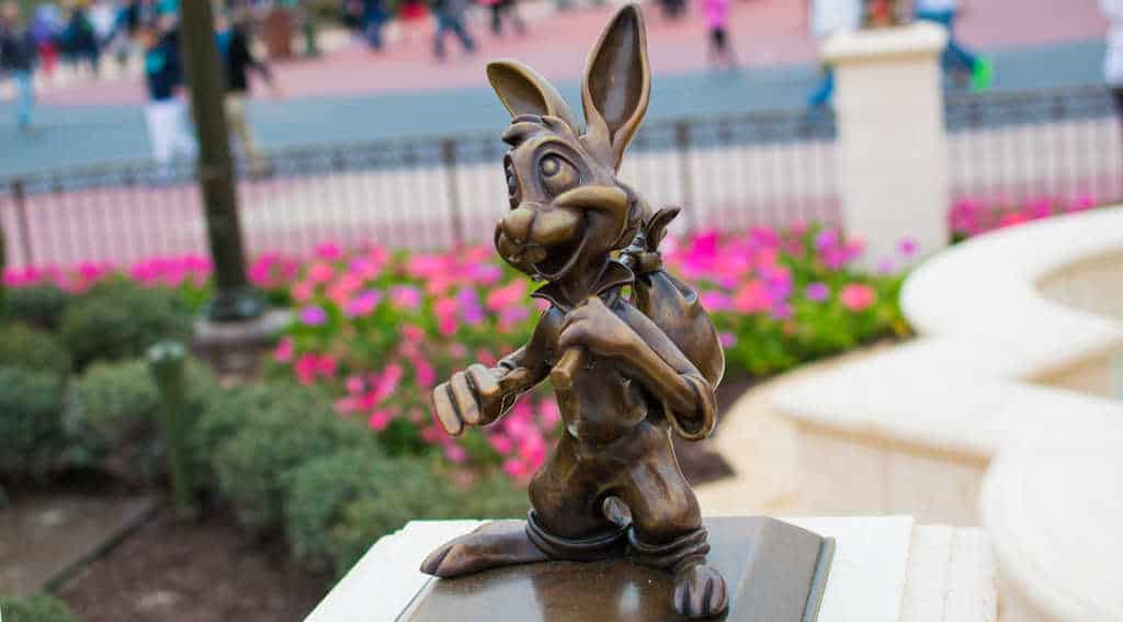 Brer Rabbit in Castle Hub at Magic Kingdom in Walt Disney World l kennythepirate.com